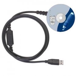 Programovací kabel + SW G10, G11, CT890, D-200